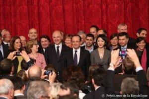 François Hollande annonce 10 mesures en faveur des entrepreneurs
