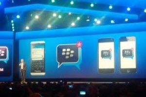 Blackberry place BBM sur Android et iOS