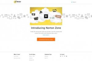 Partage en ligne sécurisé avec Norton Zone