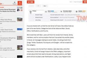 Google revoit l'interface de Gmail