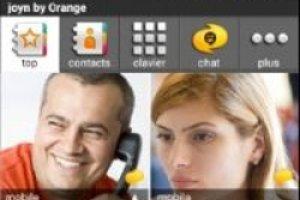 Orange lance joyn mêlant chat, vidéo, partage de photo dans un appel