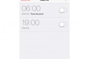 Un bug de s�curit� d�verrouille iOS 7
