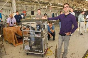 Les imprimantes 3D s'invitent dans l'espace