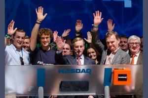 950 start-ups au Web Summit 2013 à Dublin
