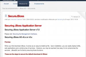 Une vulnérabilité JBoss activement exploitée par des hackers