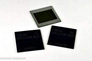 Une puce mémoire Samsung pour concevoir des smartphones avec 4 Go de RAM