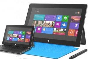 Léger regain pour les tablettes sous Windows en 2014