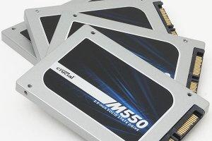 Test Crucial M550 SSD 1 To : Performances et prix serr�