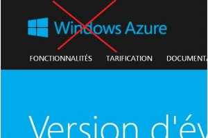 Microsoft effacerait la marque Windows de son cloud Azure