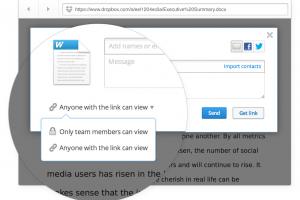 Dropbox for Business apporte des fonctions spécifiques aux entreprises