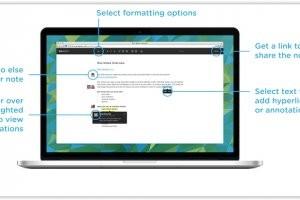 Box défie Google Docs avec Notes