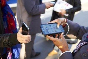 Les agents d'IDTGV utilisent des Galaxy Note pour le service aux voyageurs