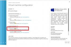 Microsoft propose aussi des outils de sécurité pour Azure