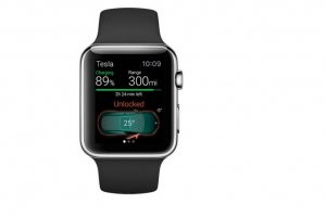 Contr�ler sa Tesla avec la Watch d'Apple