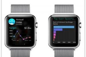 Salesforce dévoile ses apps pour l'Apple Watch