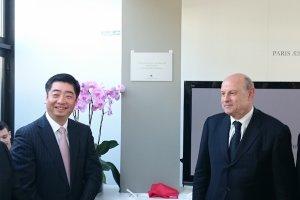 Huawei inaugure son centre de design parisien