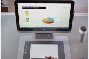 HP France commercialise le Sprout, un PC couplant scanner 3D et projecteur