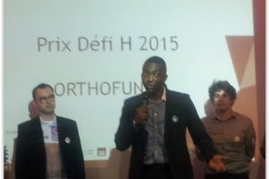 Défi H 2015 : Orthofunny, Cherry, Handi'Blind et HIPS distingués