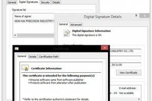 Duqu 2.0 : Les pirates ont utilisé un certificat volé à Foxconn