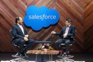 Dreamforce 2015 : Rencontre au sommet entre les patrons de Salesforce et d'Uber