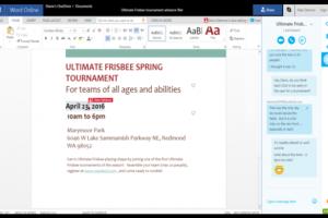 Skype désormais intégré à Office Online