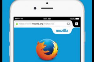 Firefox maintenant disponible pour iOS