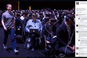 Réalité virtuelle: Mark Zuckerberg annonce un monde connecté angoissant