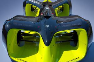 Robocar, voiture de course autonome roulant à 300km/h