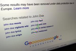 Droit � l'oubli : Google vent debout contre la Cnil