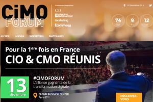 CiMO Forum 2016 : DSI et directeurs marketing main dans la main