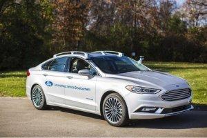 Des voitures autonomes Ford au look presque normal