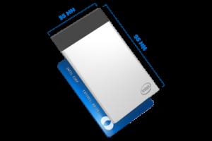 Un PC Intel de la taille d'une carte de crédit