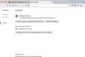 Chrome ralentit les onglets d'arrière-plan pour économiser la batterie