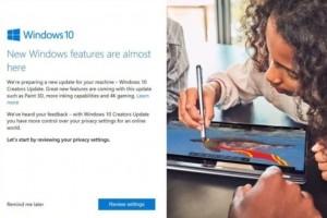 Microsoft déconseille les mises à jour manuelles de Windows Creator
