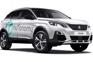 PSA travaille avec Nutonomy pour ses voitures autonomes