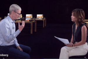 Tim Cook confirme le programme conduite autonome d'Apple