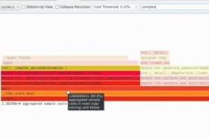 Hotspot trace dans une interface graphique les performances Linux