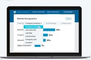 Linkedin analyse plus précisément les profils des visiteurs