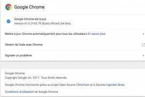 Chrome 61 corrige 22 failles et intègre le support de WebUSB