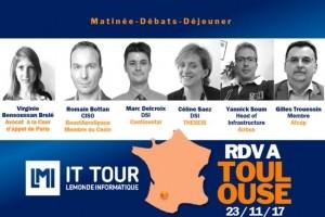 IT Tour Toulouse : Plus que 7 jours pour vous inscrire !