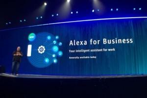 AWS pousse Alexa dans les entreprises