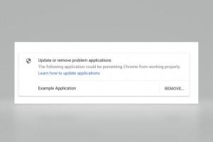 Chrome commencera à bloquer les injections de code en 2018