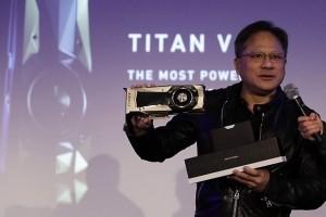 Nvidia Titan V, GPU Volta de 110 Tflops taillé pour le machine learning