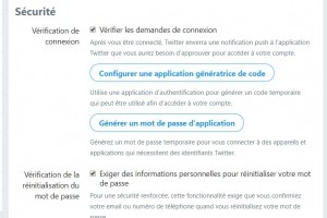 Twitter passe à la double authentification sans SMS