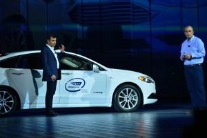 Les voitures autonomes brillent au CES de Las Vegas