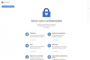 Facebook dévoile ses principes de confidentialité