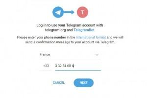 Un widget Telegram pour connecter les utilisateurs à des chatbots