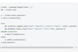 MongoDB va supporter les transactions ACID multidocuments