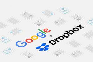 Google et Dropbox int�grent leurs solutions cloud