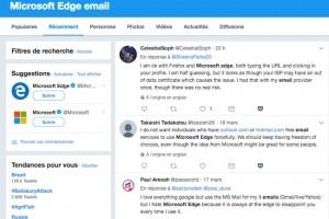 Microsoft veut forcer les utilisateurs de Courrier à ouvrir des liens dans Edge